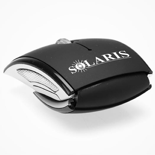 Foldable 2.4Ghz Wireless Optical Mouse