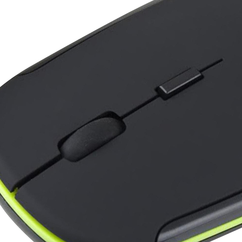Ultra-Slim 2.4Ghz Cordless Optical Mouse