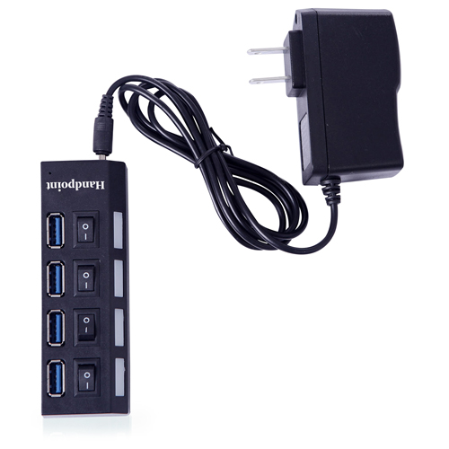 4 Port USB 2.0 Switchable Hub Image 2