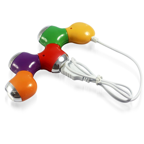 Flower Puzzle Shaped 4 Port USB Hub Image 1