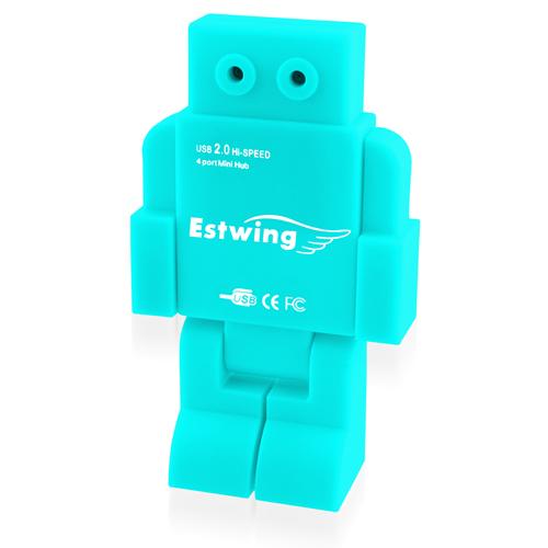 4-Ports USB2.0 Robot Hub