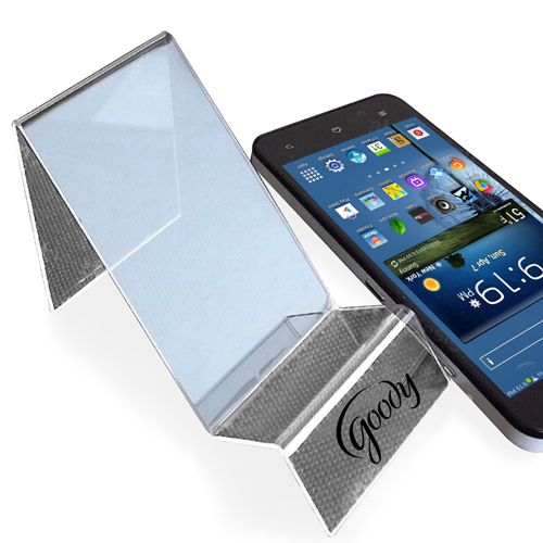 Clear Acrylic Mobile Phone Holder Image 1