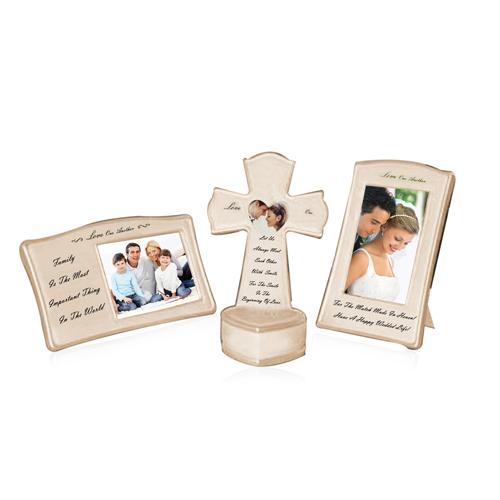 4 Piece Wedding Photo Frame