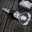 Crystal Heart Wine Bottle Stopper Image 2