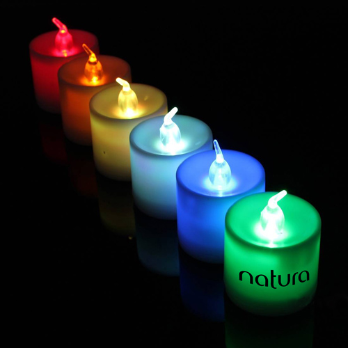 Flameless 7 Color Led Candle Image 2