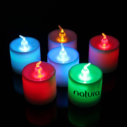 Flameless 7 Color Led Candle Image 4