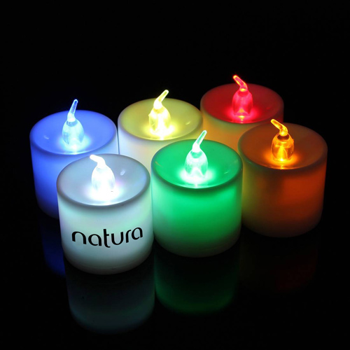 Flameless 7 Color Led Candle Image 5