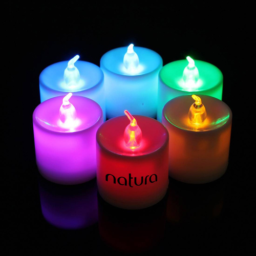 Flameless 7 Color Led Candle