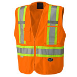 X Safety Mesh Back Vest