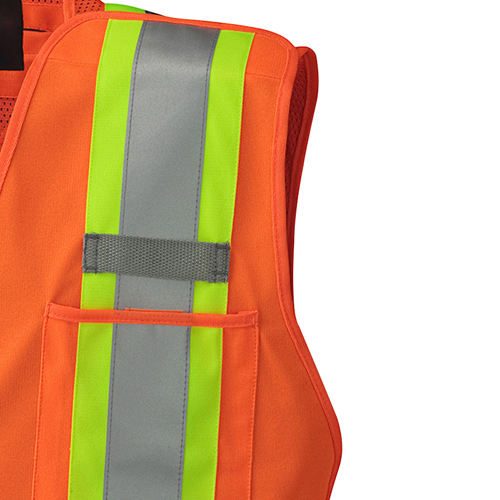 X Safety Mesh Back Vest Image 3