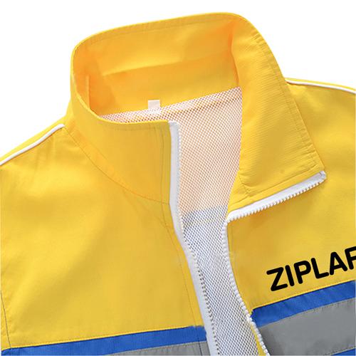 Mesh Fluorescent Relfective Vest