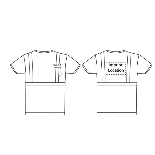 Visibility Short Sleeve T-Shirt Imprint Image
