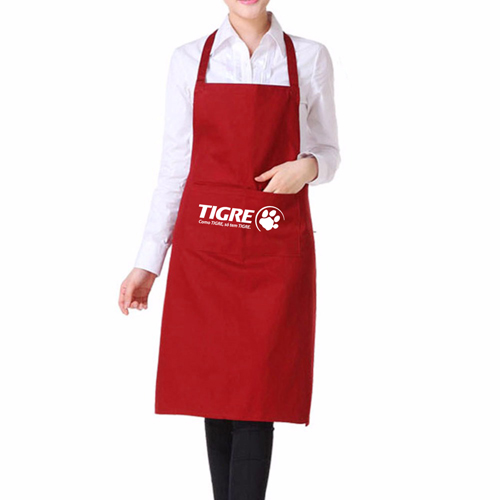 Polyester Apron With 2 Pocket