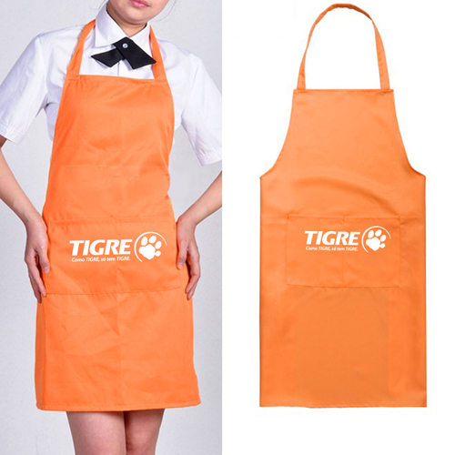 Polyester Apron With 2 Pocket Image 5