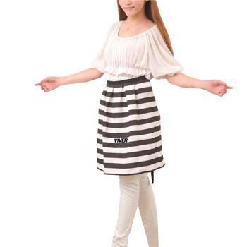 Horizontal Stripe Waist Apron