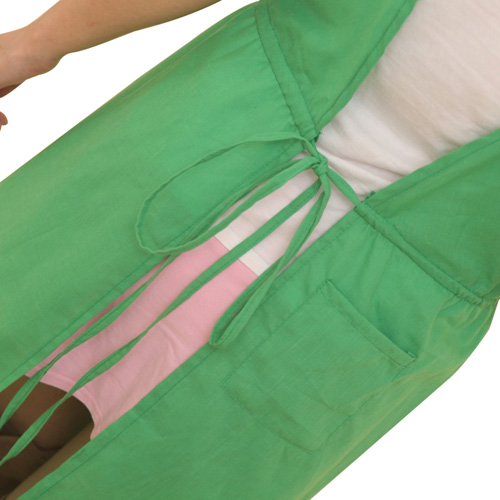 Adjustable Bib Apron With Pocket