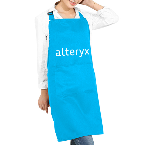 Adjustable Cotton Apron With Two Pockets