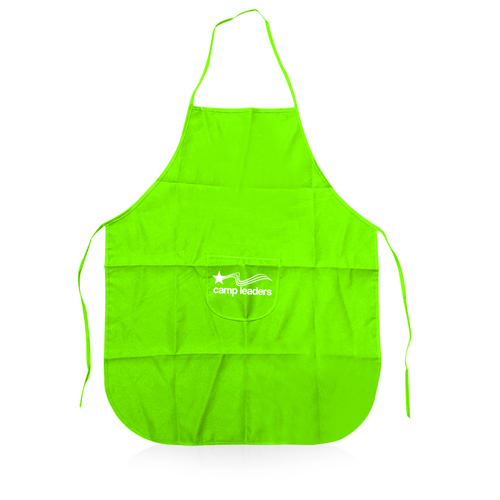 Polyester Apron With Center Pocket