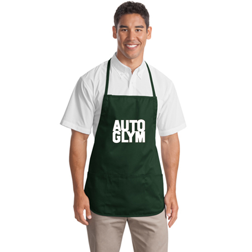 Polyester Apron With Center Pocket Image 1