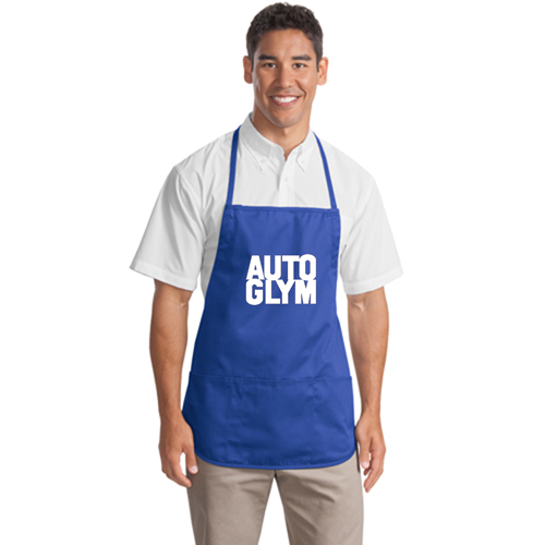 Polyester Apron With Center Pocket Image 3