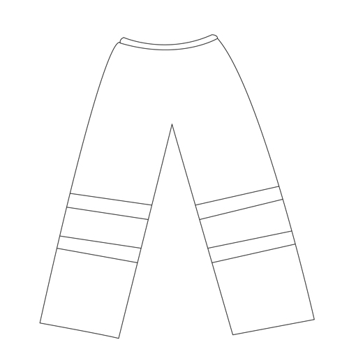 Reflective Safety Pant Imprint Image