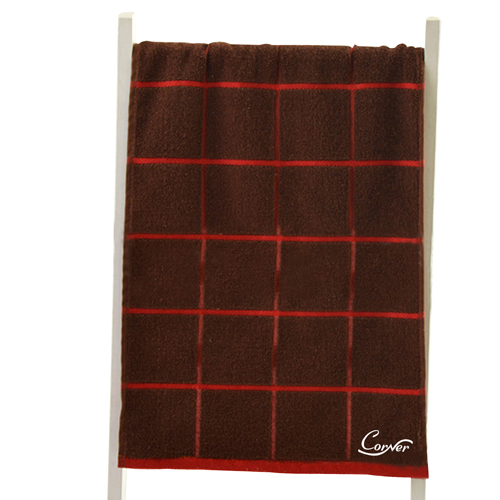 Box Line Hand Cotton Towel