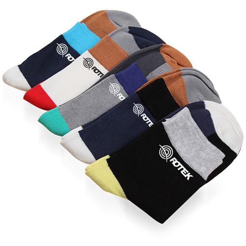 Five Color Cotton Socks