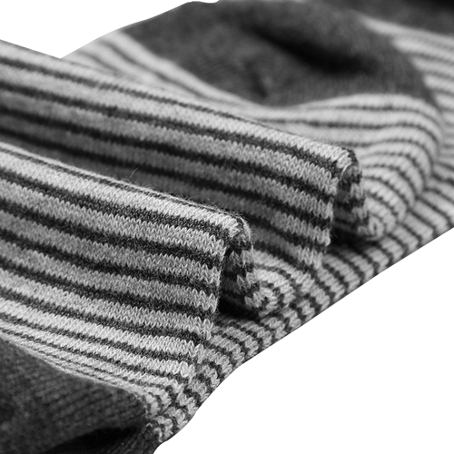 Cotton Lisle Stripe Socks