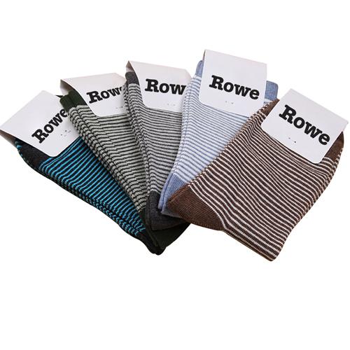 Cotton Lisle Stripe Socks