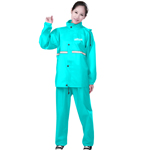 Outdoor Fashionable Reflective Raincoat