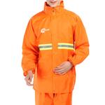 Long Pullover Raincoat