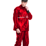 Oxford Cloth Safety Stripe Raincoat