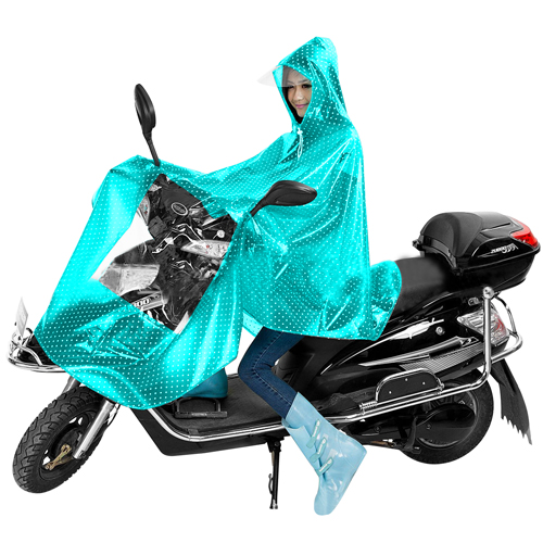 Transparent Bike Hat Raincoat