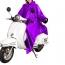 Motorcycle Safe Raincoat