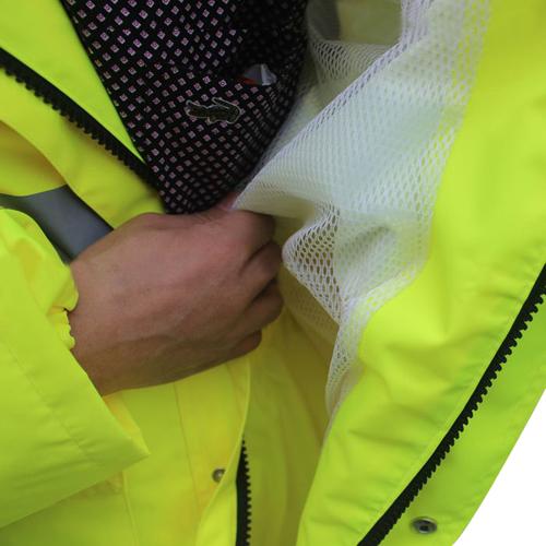 Reflective Polyester Rain Jacket
