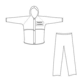 Safety Reflective Raincoat