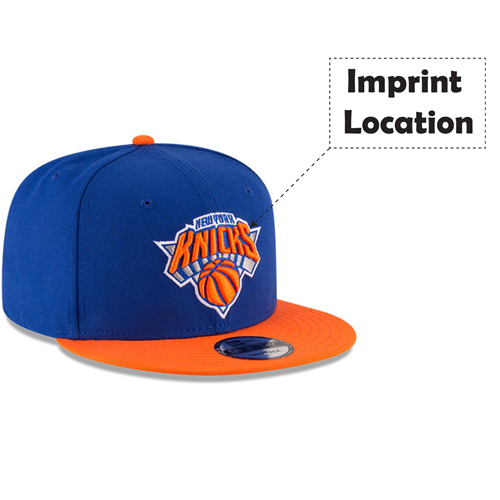 Custom Logo Snapback Cap Imprint Image