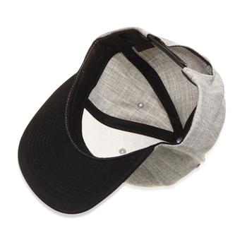 Flat Brim Wool Cap