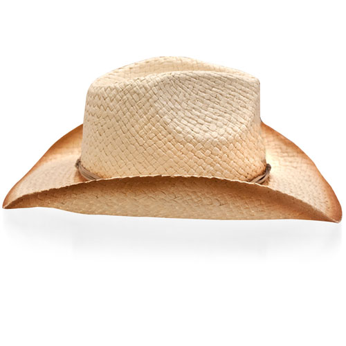 Natural Straw Cowboy Hat