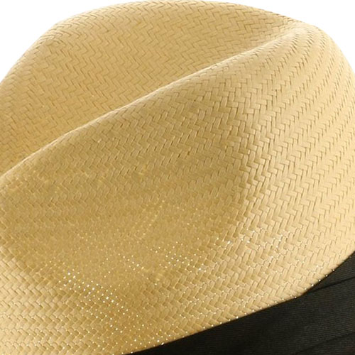 Winding Straw Hat With Ribbon Image 4