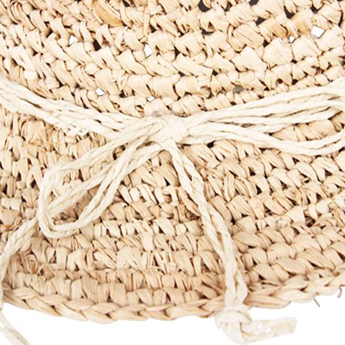 Fine Straw Cloche Hat