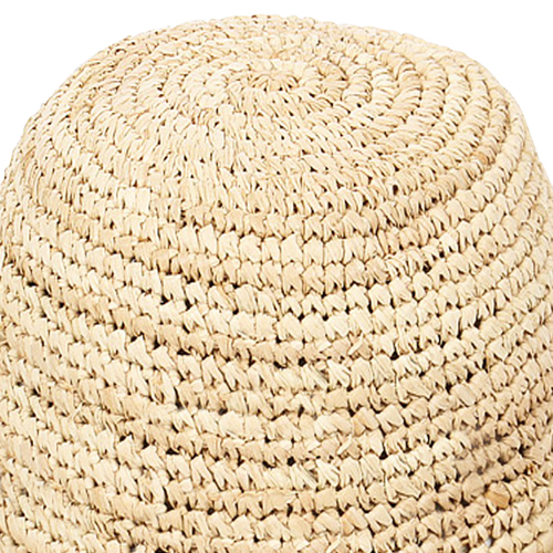 Fine Straw Cloche Hat Image 6