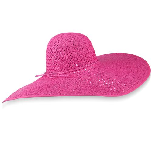 Paper Braid Big Brim Hat