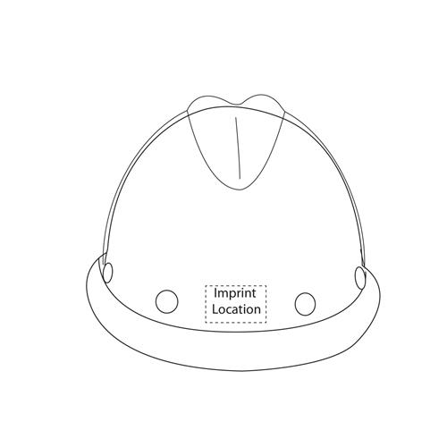 V-Shaped Fiberglass Alarm Helmet