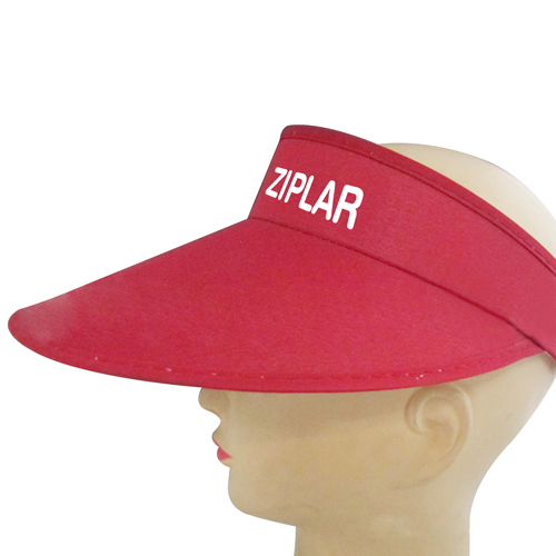 Wide Brim Cotton Sun Visor