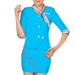 Quarter Sleeve Stewardess Uniform