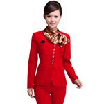 Long-Sleeved Stewardess Suit