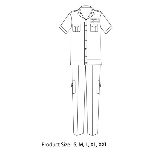 Short-Sleeve Security Uniform