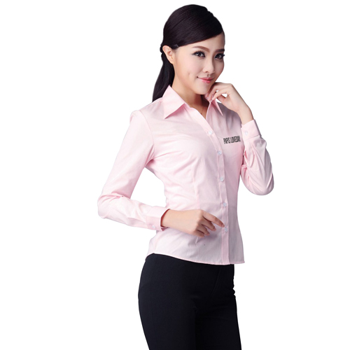 Long Sleeve Slim Fit Womens Shirt