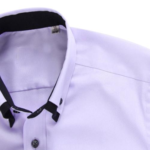 Double Collar Long Sleeve Shirt